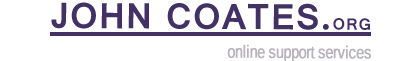 John Coates' Blog